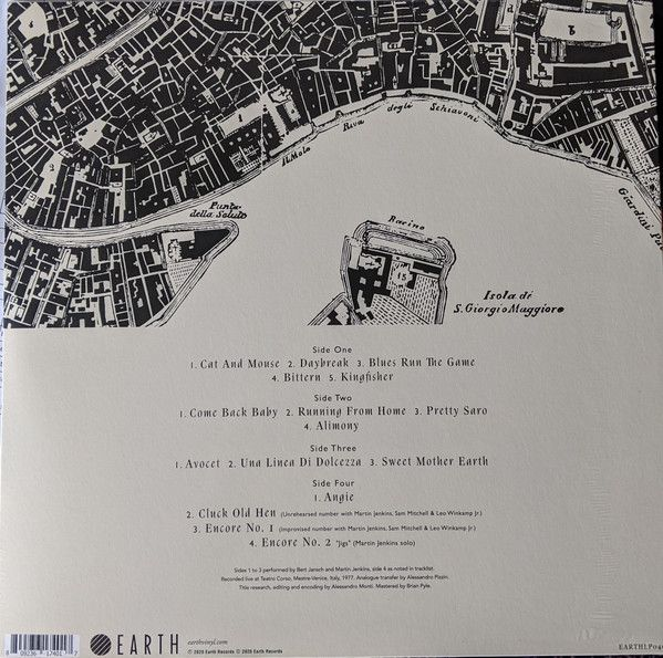 <em>Live In Italy</em> back cover