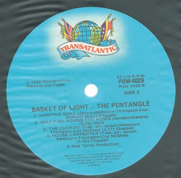 <em>Basket Of Light</em> LP side 2