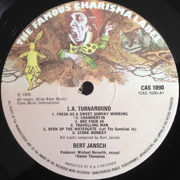 <em>L.A. Turnaround</em> LP side one