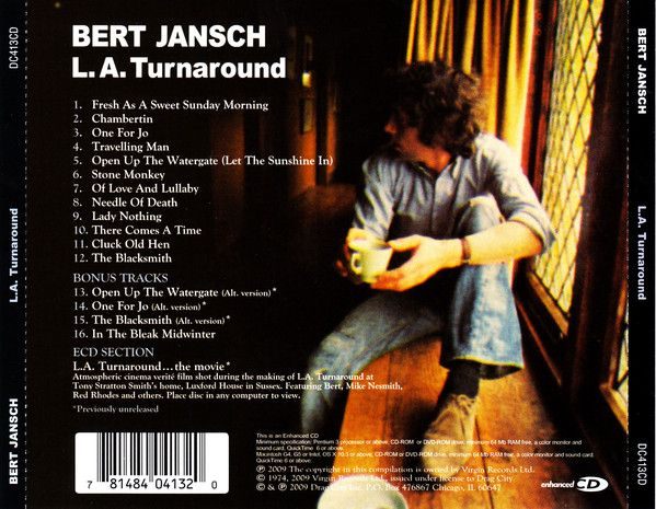<em>L.A. Turnaround</em> back cover