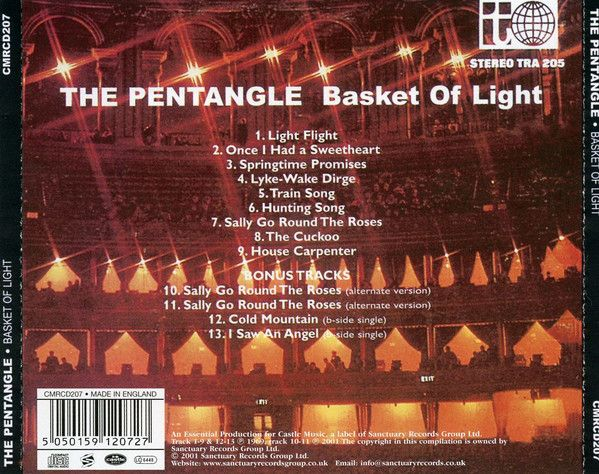 <em>Basket Of Light</em> back cover