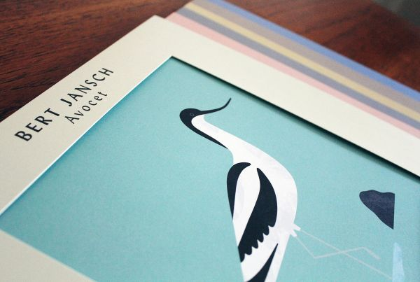 <em>Avocet</em> Art Edition, stack
