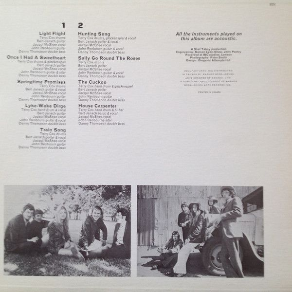 <em>Basket Of Light</em> inner sleeve