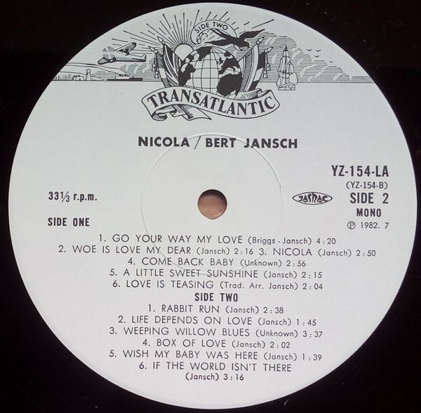 <em>Nicola</em> LP side two