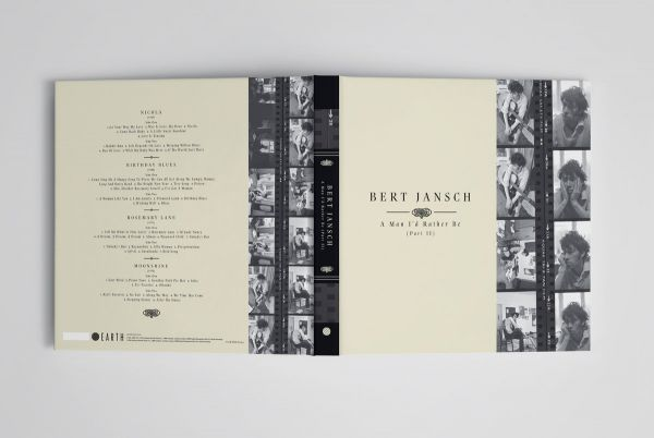 <em>A Man I'd Rather Be (Part 2)</em> front and back covers